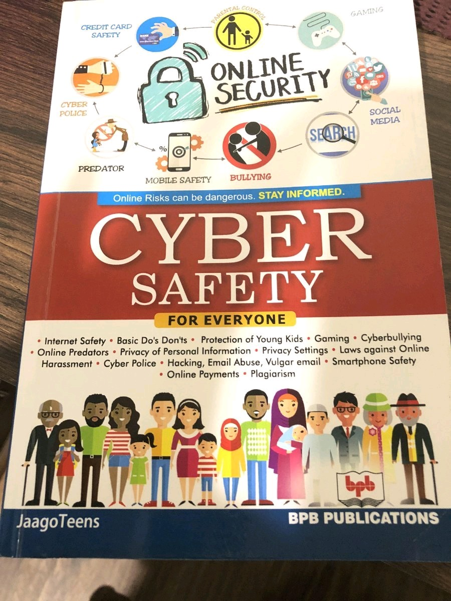 Cyber Threat Safety & Security Infographic .