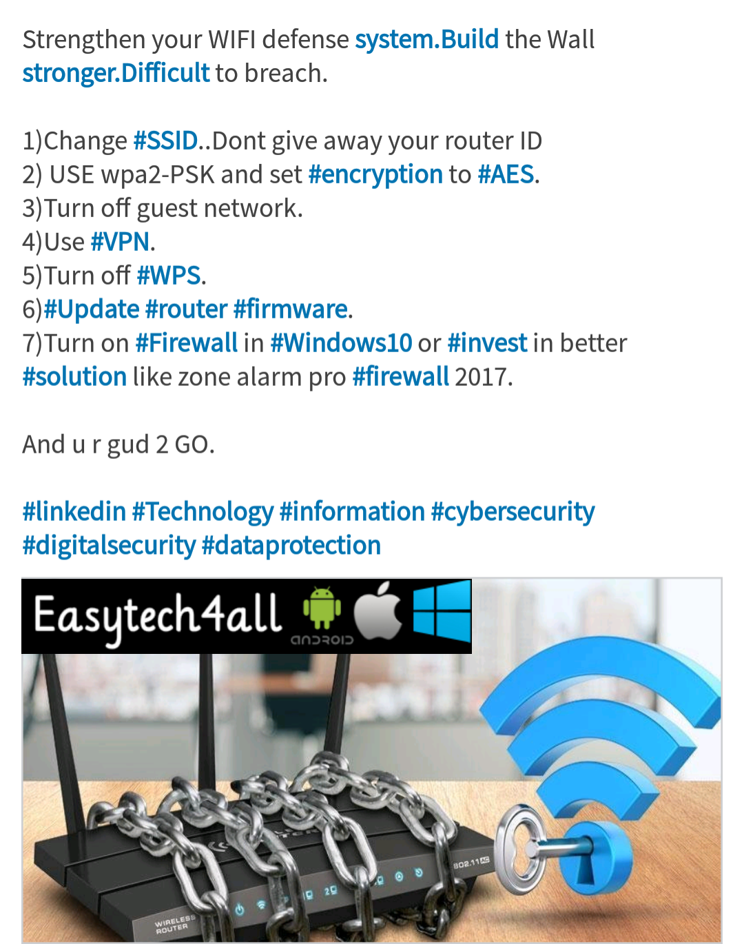 Cybersecurity Tips